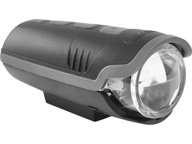 Busch + Müller IXON Pure Reflektor przedni z baterią i ładowarką, black